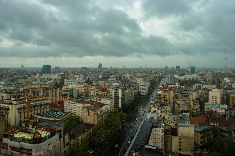 Rainy Day in Bucharest